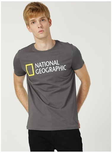 National Geographic National Geographic Antrasit T-Shirt Antrasit